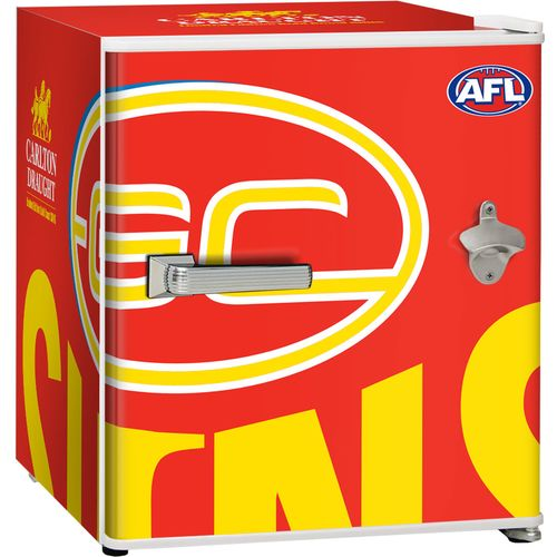Gold Coast Suns Carlton Draught Beer Fridge