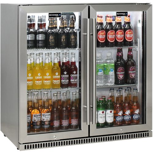 Schmick Alfresco Heated Glass Door Bar Fridge SK190-SS