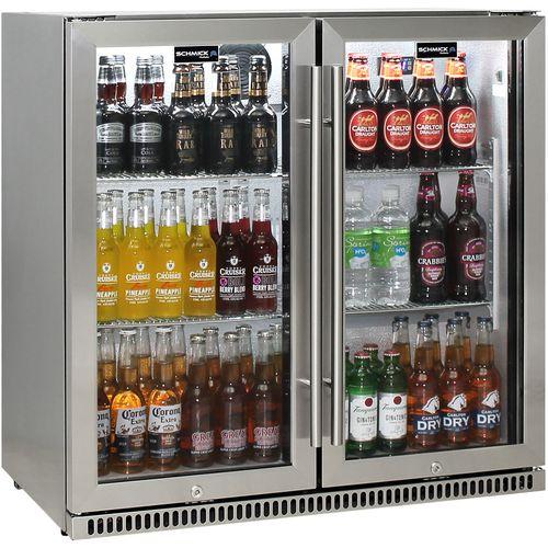 Schmick Alfresco Heated Glass Door Bar Fridge SK190-SS