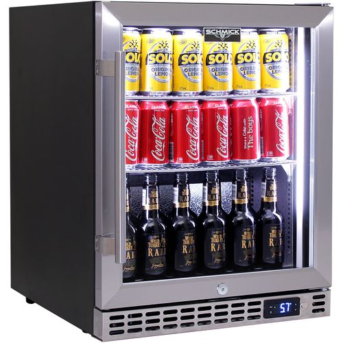 Schmick Under Bench Quiet Running Efficient Bar Fridge Model SK86-SS