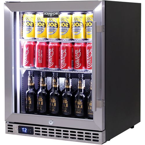 Schmick Under Bench Quiet Running Efficient Bar Fridge Model SK86L-HD