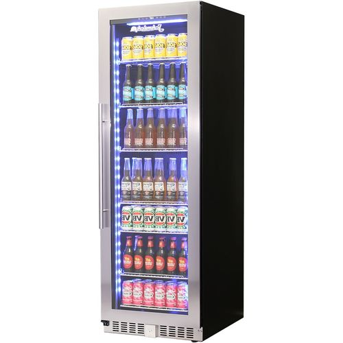 Schmick Upright Glass Door Quiet Bar Fridge ControllerModel BD425RB