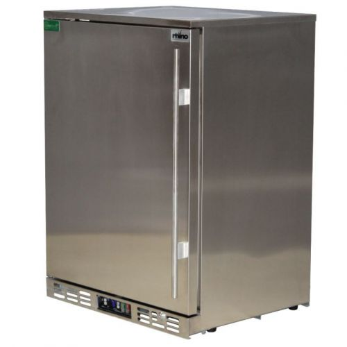 Rhino 1 Door All Stainless Steel Bar Fridge Model SG1L-SD
