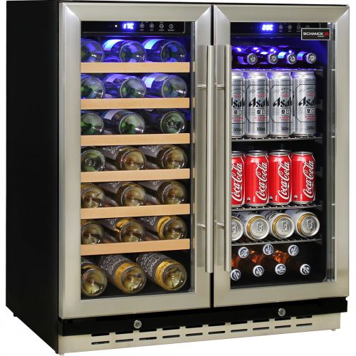 Schmick Dual Zone Under Bench Indoor/Alfresco Beer And Wine Fridge
