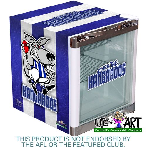 Weg Art Kangaroos Bar Fridge - 15 Teams Available! Scroll To Find Yours