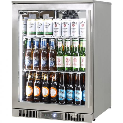 Rhino 1 Door Alfresco Outdoor Glass Door Bar Fridge  Model ENV1L-SS