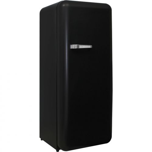 Schmick Black Retro Bar Fridge Looks Great In Matte Finish