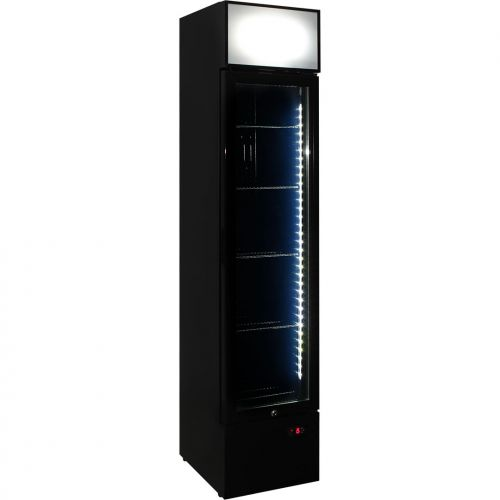 Schmick Skinny Tropical Rated Tall Glass Front Bar Fridge