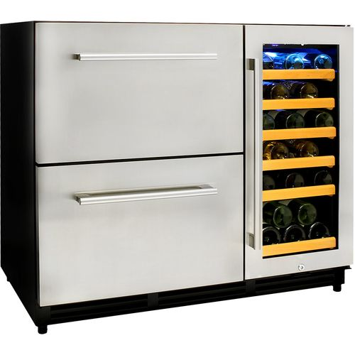 Alfresco Drawer Fridge And Wine Fridge